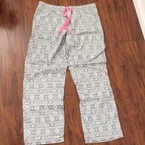 NWOT Pink PJ bottoms